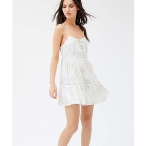 UO Honey Tiered Frock Mini Dress
